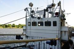 Deckhouse του μικρού σκάφους Στοκ Εικόνες