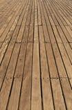 decking αποβάθρα Στοκ Φωτογραφία