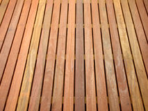 Decking Photographie stock