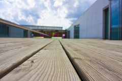 Decking close up Royalty Free Stock Photography