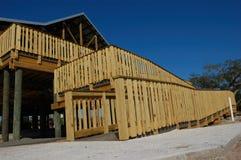 Decking de madeira Imagem de Stock Royalty Free