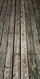 Decking de madera viejo Fotos de archivo libres de regalías