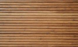 Decking en bambou Images stock