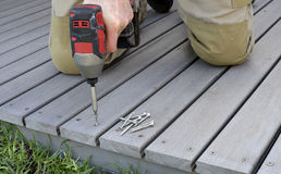 Decking Stock Photography