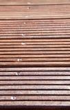 Decking robuste Photo libre de droits