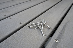 Decking Royalty Free Stock Photography