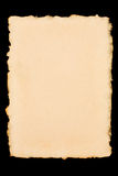 deckle ακονισμένο έγγραφο Στοκ Φωτογραφίες
