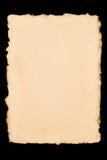 Deckle afiou o papel fotos de stock