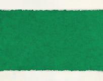 Deckled kanter på dokument med olika förslag Arkivfoto