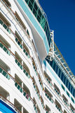 Decks on Curving Bulkhead of Cruise Ship Royalty Free Stock Photography