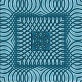 Deckt geometrisches Muster, nahtlosen Hintergrund für kreative Ideen mit Ziegeln Stockfotografie