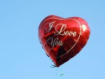 Declaração do amor Fotografia de Stock Royalty Free