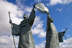 Declaração do monumento de Arbroath imagem de stock