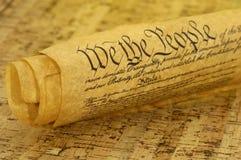 Declaración de Derechos Foto de archivo libre de regalías