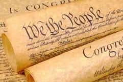 Declaración de Independencia Imagen de archivo libre de regalías