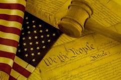 Declaración de Independencia de Estados Unidos Imágenes de archivo libres de regalías