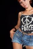 Declaración de manera de la paz del mundo imagenes de archivo