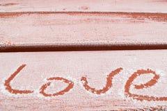 Declaraciones del amor por todas partes fotos de archivo libres de regalías