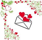 Declarando o amor Imagem de Stock