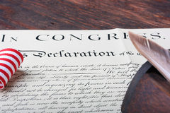 Declaration Stock Image