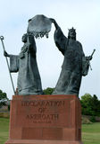 Declaration Of Arbroath, Scotland Royalty Free Stock Photo