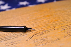 Declaration of Independence Royalty Free Stock Photos