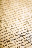 Declaration of Independence ba royalty free stock images