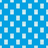 Declaration of independence pattern seamless blue. Declaration of independence pattern repeat seamless in blue color for any design. Vector geometric Royalty Free Stock Photos