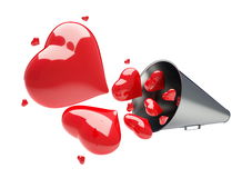 Declaration is of love Stock Photos