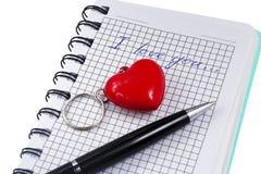 Declaration of love Royalty Free Stock Photos