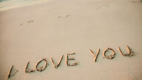 Declaration of love Stock Photo