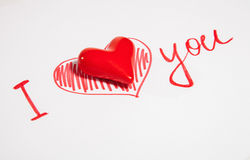 Declaration of love Royalty Free Stock Images