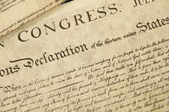 Free Declaration Of Independence Royalty Free Stock Images - 18895389