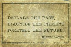 Declare, diagnostique a Hipócrates imagenes de archivo