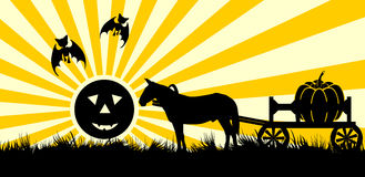 Decline in halloween Royalty Free Stock Images