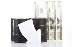 Decline in oil prices Stock Photography