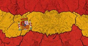 Decline of Spain Stock Photo