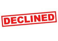 declined stock illustrationer
