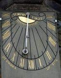 Declining Wall Sundial Stock Image