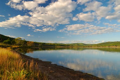 Declino a lake-2 Fotografie Stock Libere da Diritti