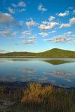 Declino nel lago Fotografie Stock Libere da Diritti
