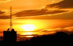 Declino solare fotografia stock libera da diritti