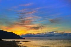 Declino sul lago Baikal, Immagine Stock Libera da Diritti