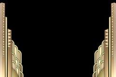 deco здания граници искусства Стоковые Изображения RF