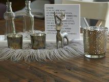 Deco на таблице стоковая фотография rf