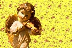 deco предпосылки искусства ангела Стоковое Фото
