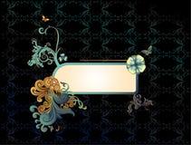 Deco banner vector royalty free illustration