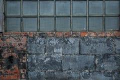 Deco-Blok en Rotte Bakstenen Stock Foto's