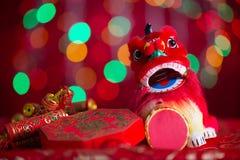 Deco chinês do festival do ano novo Fotos de Stock Royalty Free