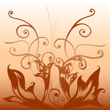 Deco de Brown Illustration Stock